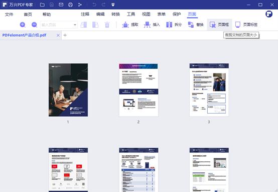 调整PDF尺寸