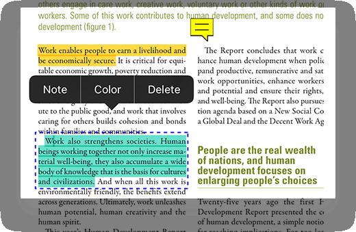 iOS版PDF编辑器
