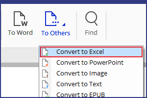 change pdf 2 excel windows 8