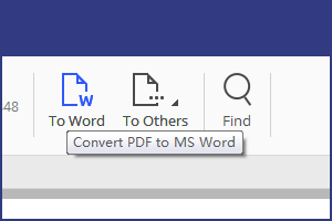 PDF to Word Windows 10