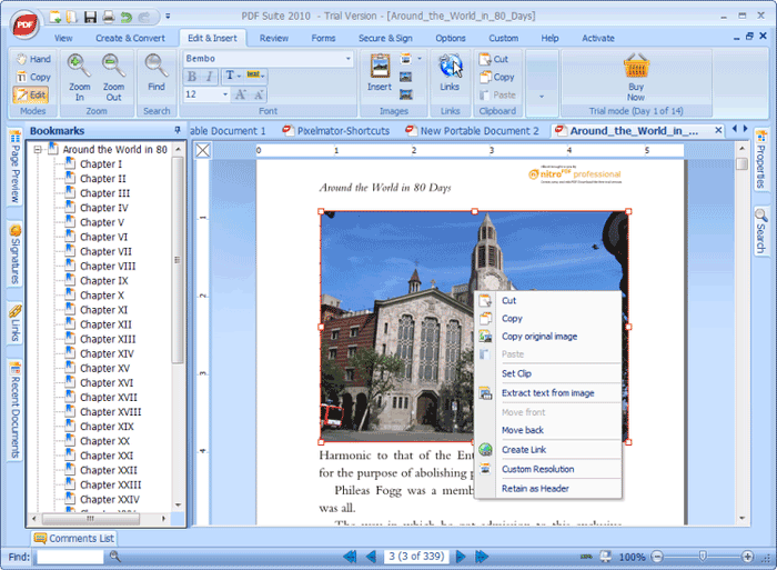 PDF转换和编辑