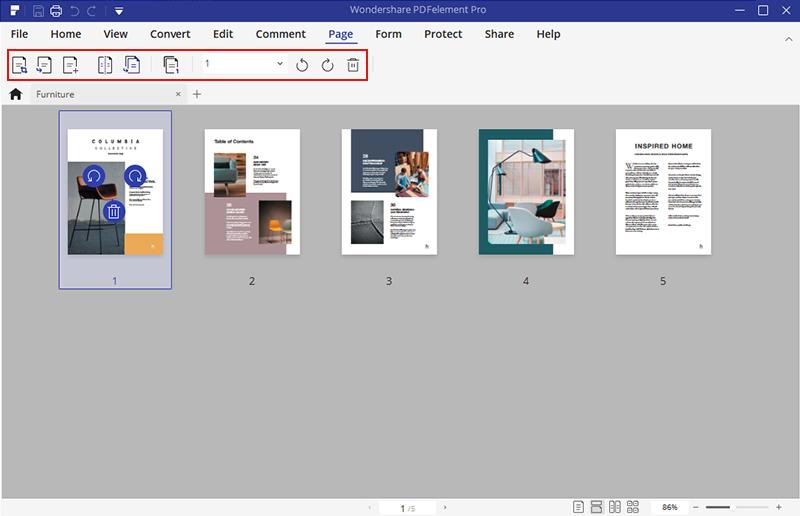 PDF页面调整