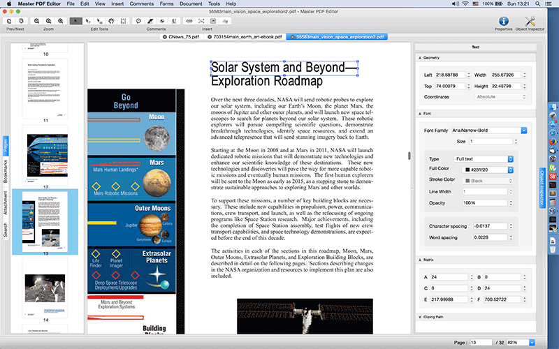 Proview PDF editor