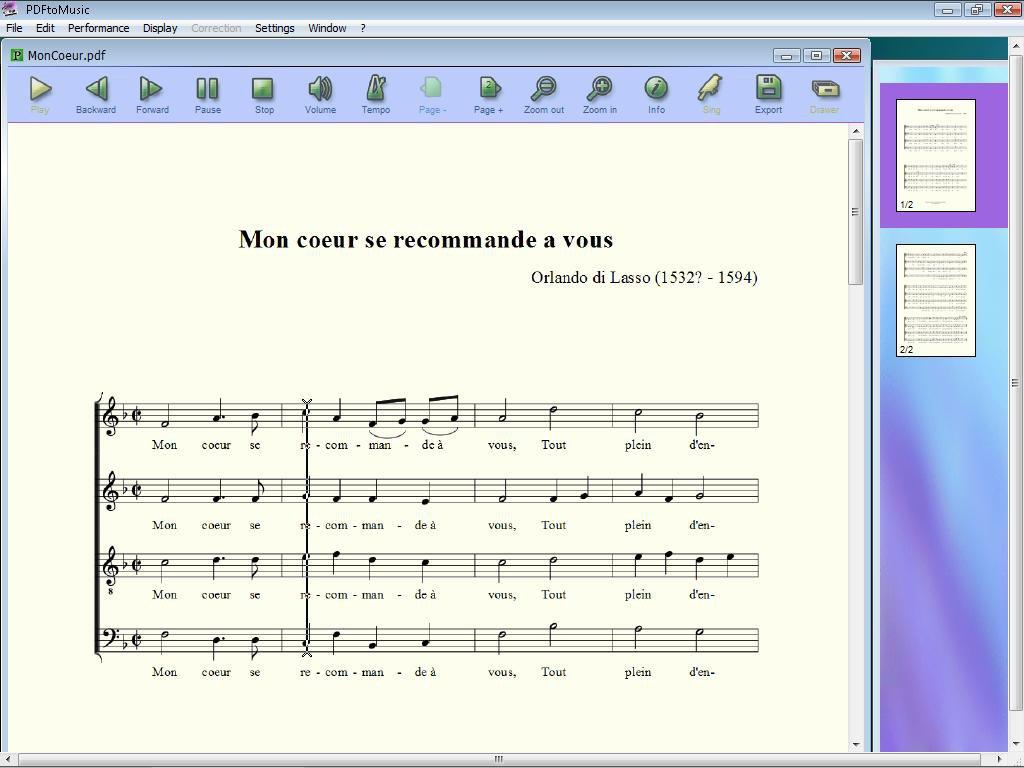 PDF转MIDI