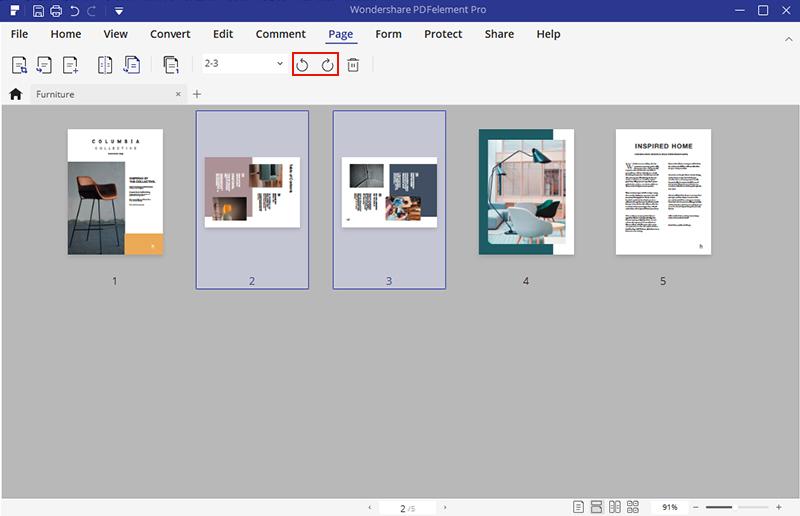 PDF如何修改页码