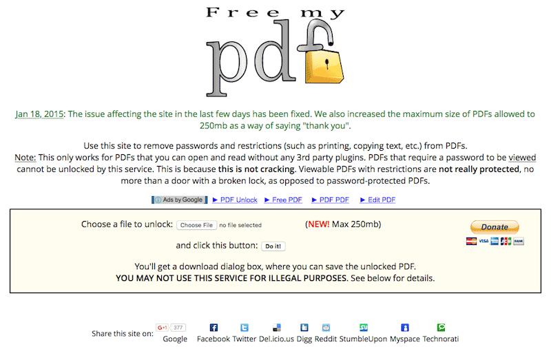 PDF文档加密软件