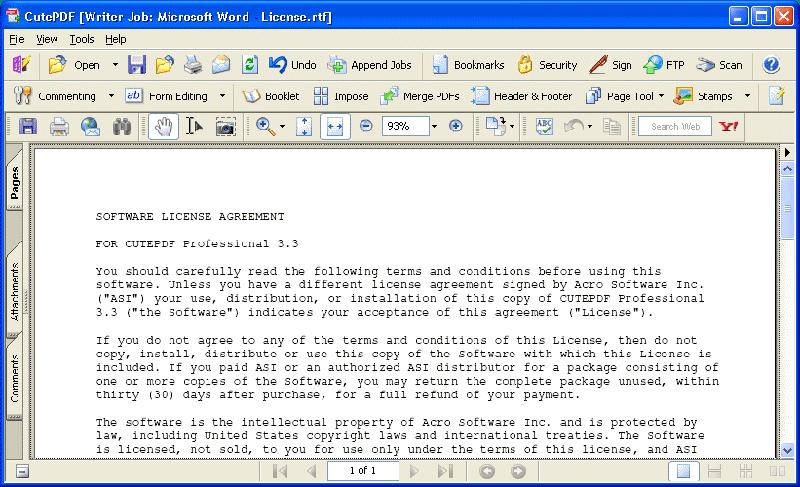 怎么做PDF文件